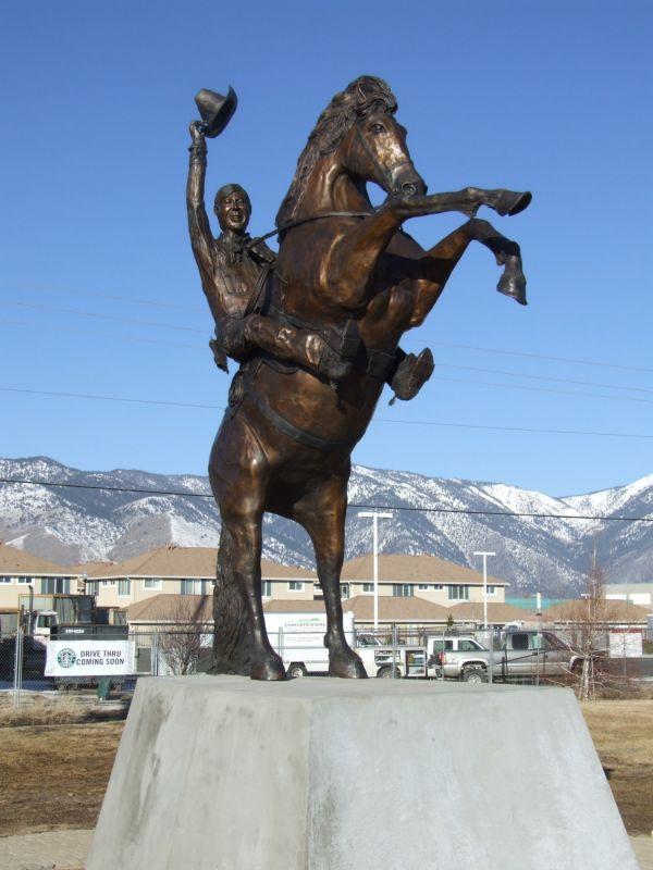 Larry Willson's Statue