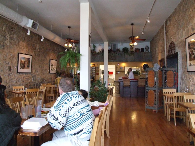 Cafe Del Rio Interior - 2006